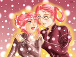 Sisters in the Snow by idelle