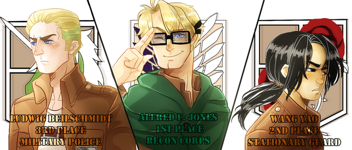 SNK x APH / The Giants by NerdyJones