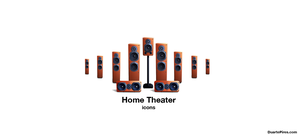 Home Theater Icons by timelikeit