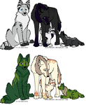 Adoptables! Open by poisonflame