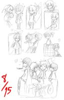 Kagerou Project - Can Doodles by Jumping-Beans