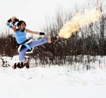 Korra, the Fierce by freedomfighter12