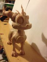 Work in Progress: Spyro Maquette by R-Spanner