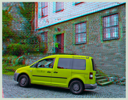 Mail delivery time 3D ::: DRi Anaglyph Stereoscopy by zour