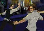 Seb vs Bigby 2 by Grace-Zed
