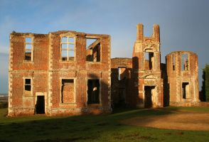 Houghton House 2 - Stock by OghamMoon