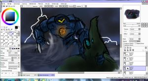 Pacific Rim WIP by SharinganAce