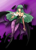 morrigan by hleexyooj