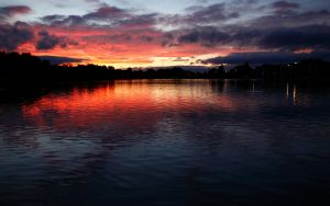 September Sunset by scotto