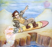 Jim Hawkins by chronicdoodler