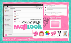 MajiLook IP theme by a-Sonrix
