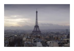 The Eiffel Tower by craigthebrit
