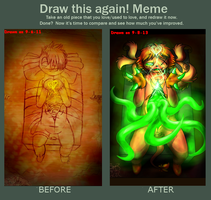 Meme: Draw this Again by PukingRainbow