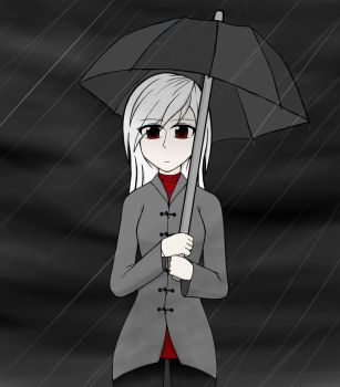 In The Rain by ScaryReptile