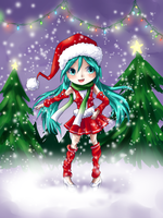 I wish you a Miku christmas by SisleyLovesKiro