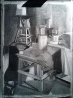 Charcoal Drawing #4 by ShiningArtist20