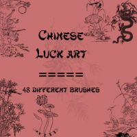 Chinese Luck Art by rL-Brushes