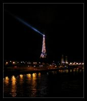 Paris at Night - 2 by IsaFortyThirty1