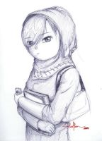 Arabic Gulf Girl by Another-Art