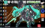 MS Toy Hatsune Miku Desktop by victortky