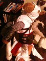 Altair Horse Plushie Complete by hellcattheassassin