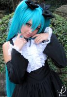 Hatsune Miku - Cute face by LollipopBunnie