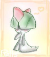 Ralts by 0Night-Shade0