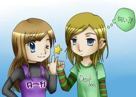 Me and M by Lotty-chan