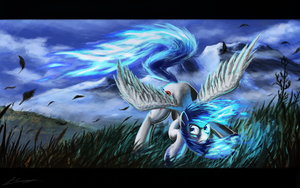 The Azure Flame by Huussii