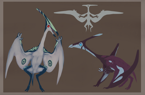 Pterosaur Creature Adoptables (CLOSED) by ToothlessEgo