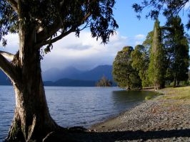 Lake Te Anau by Drumlanrig