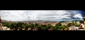 Barcelona from Park Guell by nikhil