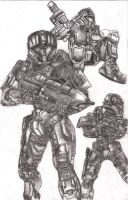 halo 3 fan art by yourmumv2
