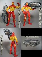 MvsC Iron Man Custom Figure by KyleRobinsonCustoms