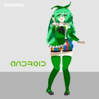 Android-tan by NextDream