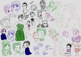 BTR: doodle dump by Ty-miester