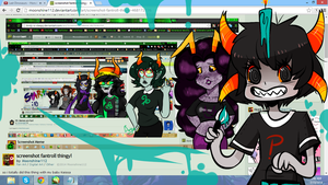 OOPS!! Fantroll screencap thing by Cuddle-beast
