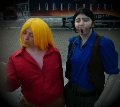 Migel and Tulio cosplay  London 2016 by Froodals
