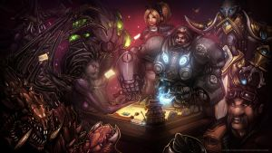 Starstone: Heroes of Starcraft by Starlitdragon
