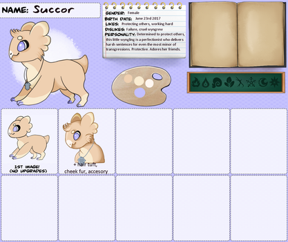 Succor Reference Sheet by StreamersAbound
