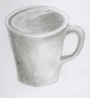 Coffee Cup Still Life by damekage