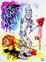 The Heart of a Lion by The-Talking-Mime