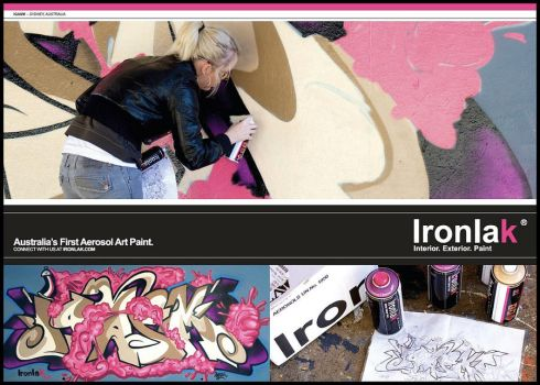 Igasm - Ironlak Advertisement by Igasm