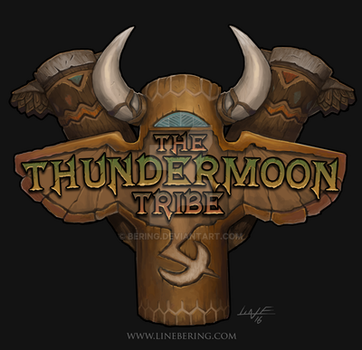 Guild Crest - Thundermoon Tribe by Bering