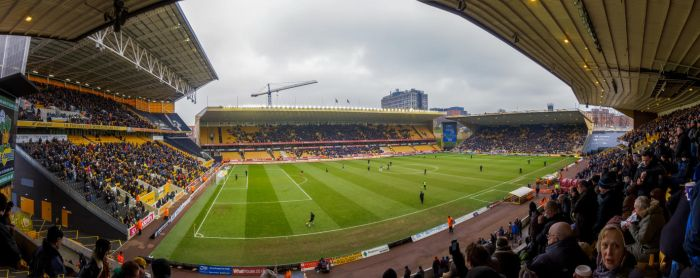 Molineux Winter Panorama by TomGreenPhotos