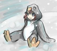 little penguin by lupidog