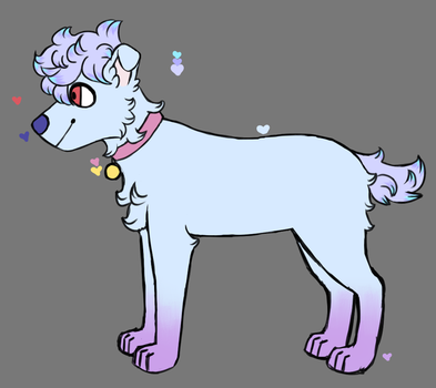 (Open Auction) Floofy Doggo Adopt by Kidgore
