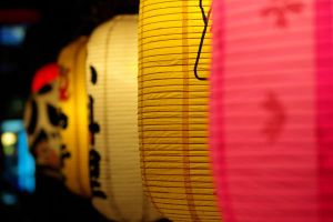 Seoul : Colored Paper Lanterns by LeeWooJin