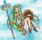 Commission: Palutena by Altermentality
