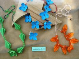 Origami Necklages by iDoux